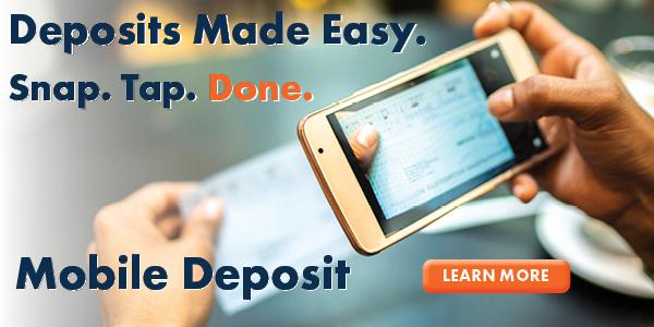 Mobile Deposit Ad
