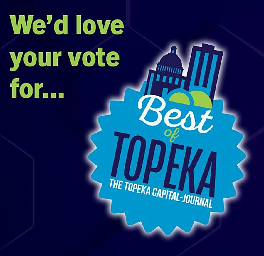 We'd love your vote for best of topeka